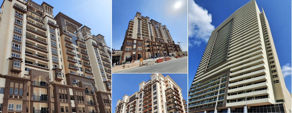 CANAL RESIDENCE WEST PHASE || {SPANISH & ARABIAN} (DUBAI SPORTS CITY),VANTAGE TOWER (JUMEIRAH VILLAGE CIRCLE, DUBAI)